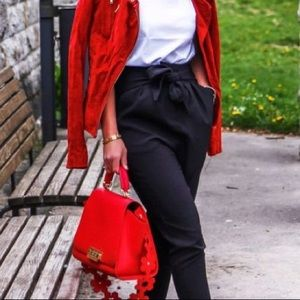 Style & Co Red Casual Jacket